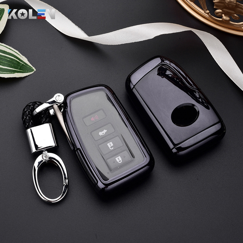 TPU PC Material Car Key Case Cover For Lexus NX ES GS RX IS RC LX 200 250 350 450H 300H ES200 Auto Remote Key Holder Shell Fob