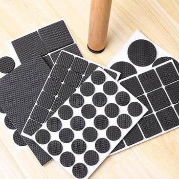 1-24PCS Thickening Self Adhesive Furniture Leg Feet Rug Felt Pads Anti Slip Mat Bumper Damper For Chair Table Protector Hardware 1