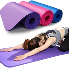 Fitness-Mat EVA Foam Exercise Comfort Yoga Pilates Thick Sports Anti-Skid 3MM-6MM And