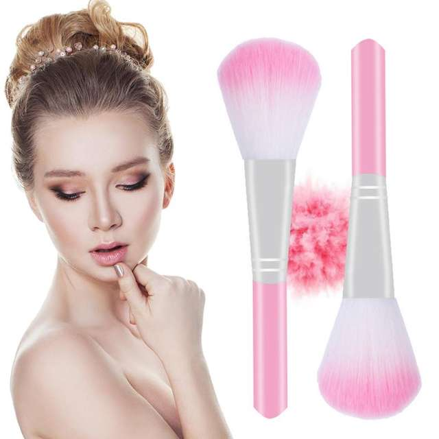 Makeup Brush Portable Durable  Soft Fluffy Care Facial Beauty Makeup Cosmetic Tools