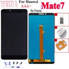 New for Huawei Mate 7 LCD Display Touch Screen Digitizer Assembly for Mate7 MT7 MT7-TL10 MT7-TL00 MT7-UL00 MT7-L09 Replacement suitable for huawei ascend mate 7 l09 mt7 tl10 lcd screen display touch panel digitizer assembly full replacement parts