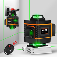 Laser Level 16 Line 4d Green High precision Automatic Paving Floor Tile Sticking Instrument Wall Nivel Construction Tools