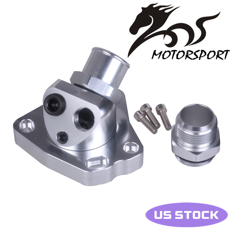 For K20 K24 car engine cooling Components swivel neck Thermostat Housing