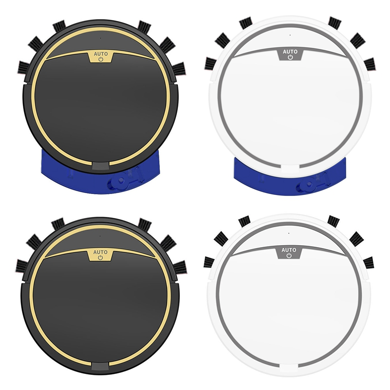 2800Pa Robot Vacuum Cleaner with Remote Control Multiple Cleaning Modes Carpet Cleaner