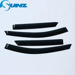 Image 2 - Side Window Deflector For Hyundai IX35 2010 2011 2012 2013 2014 2015 ABS Black Window Visor Vent Shades Sun Rain Deflector SUNZ