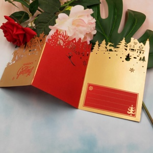 Image 5 - Christmas card metal cutting knife die 2019 new DIY scrapbook, used for card paper card decoration mold