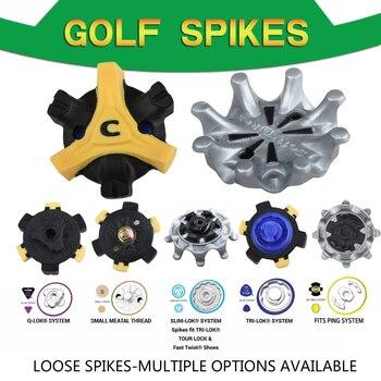 14 шт. обувь для игры в гольф шипы свободные различные варианты шипы для клюшки для гольфа набор запасных частей для Пинг/TRI LOK/SLIM LOK/маленький со стильной металлической/Q LOK системы|Обучение гольфу|   | АлиЭкспресс