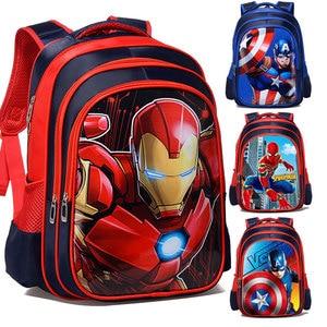 3D Cartoon Iron Man Captain Am
