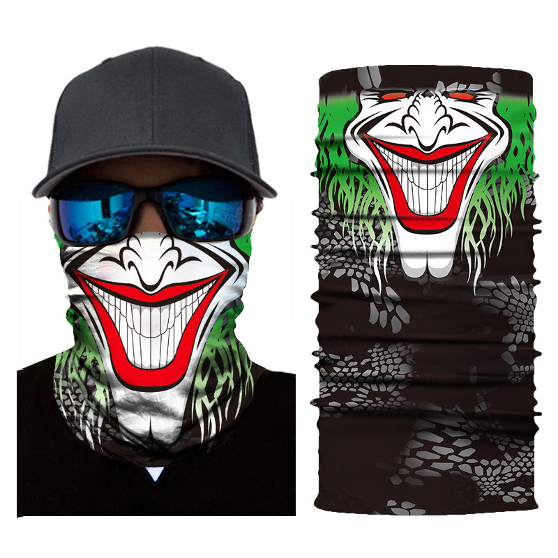 New Face Shield Mask Balaclava Neck Gaiter Bandana Neckerchief V for Vendetta @