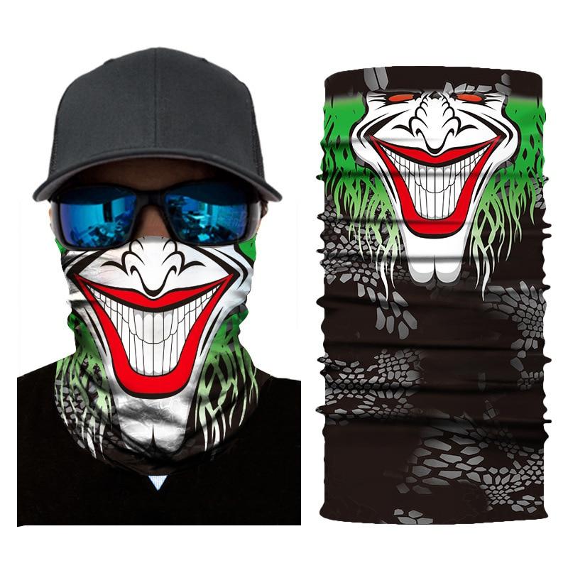 New Face Shield Mask Balaclava Neck Gaiter Bandana Neckerchief V for Vendetta @