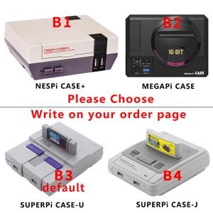 Image 2 - פטל Pi 3 דגם B בתוספת משחקי ערכת + אספקת חשמל + כרטיס SD + כבל HDMI + גוף קירור + retroflag NESPi מקרה עבור Retropie 3B בתוספת/Pi 3B +