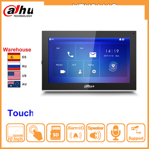 "Image 1 - Dahua Original VTH5441G Monitor interior 10 ""1024*600 pantalla táctil Color IP Video Intercom IPC compatible con alarma reemplazar VTH1660CH"