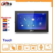 """Dahua 원래 vth5441g 실내 모니터 10 """"1024*600 터치 스크린 컬러 ip 비디오 인터콤 ipc 지원 알람 vth1660ch 교체"""