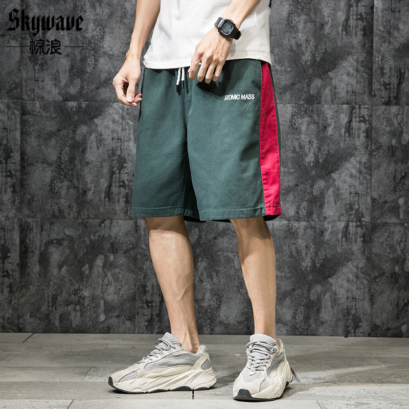 Fashion Men Shorts Casual Big Size Sport Baggy Shorts With Pockets Cargo Streetwear Sweatpants Spodenki Mens Half Pants XX60MS