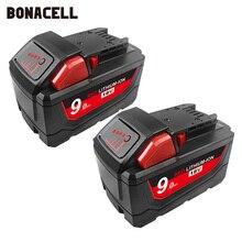 Милуоки 48-11-1852 M18 REDLITHIUM XC 6.0Ah Расширенная емкость батареи для Милуоки 48-11-1850 48-11-1840 беспроводные электроинструменты