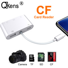 Card-Reader Otg-Cable-Adapter Usb-Camera iPad SD for iPhone 11/Pro/Xs/.. Connection-Kit