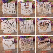 Flower Stencils Template Painting Scrapbooking Embossing Stamping Album Card DIY M89A