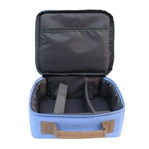 Image 4 - SUNNYLIFE Bolsa de transporte de lona a prueba de golpes, portátil, a prueba de arañazos, funda de bolso para Selphy CP910 1200, Mini proyectores de impresora