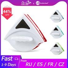 Magnetische Fenster Pinsel Glas Reiniger Pinsel Werkzeug Fenster Wischen Double Side Magnetic Glas Pinsel für Waschen Haushalt Reinigung Werkzeug