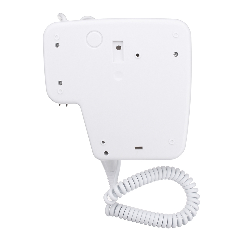 Image 5 - 220V 1300W 2 Modes Adjustable Usb Socket Wall Hanging Type Electric Hotel Home Bathroom Hair Dryer Holder Salon Hair Blow Drye-in Hair Dryers from Home Appliances