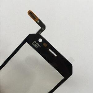 Image 5 - 4.5 タッチスクリーンデジタイザパネル猫S30デジタイザタッチスクリーンの前面ガラスセンサーツール3メートルのりワイプ