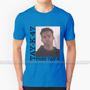 Tay - K 47 gratis Tay - K para hombres mujeres camiseta imprimir Top Tees 100% algodón Cool t-shirts s-6xl Lil Uzi Vert Luv Is Rage 2 1600