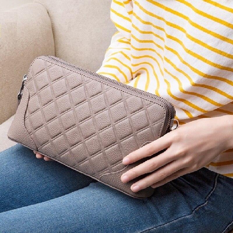 ZOOLER Genuine Cow Leather Cloud Bag Soft Dumplings Shoulder Messenger Luxury Handbags Women Designer Ins Hot clutches#lt236