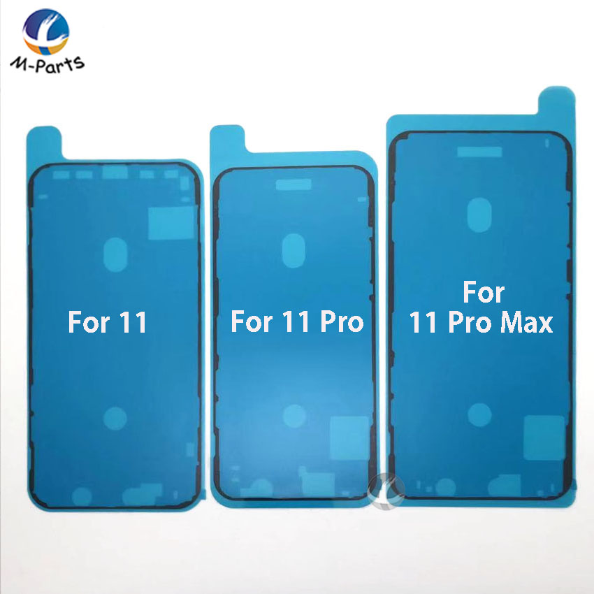 10pcs / Lot Waterproof Adhesive For iPhone 6 6S 7 7P 8 8P Plus X XS XSM Max XR 11 Pro Max 11Pro LCD Screen Front Frame Sticker(China)