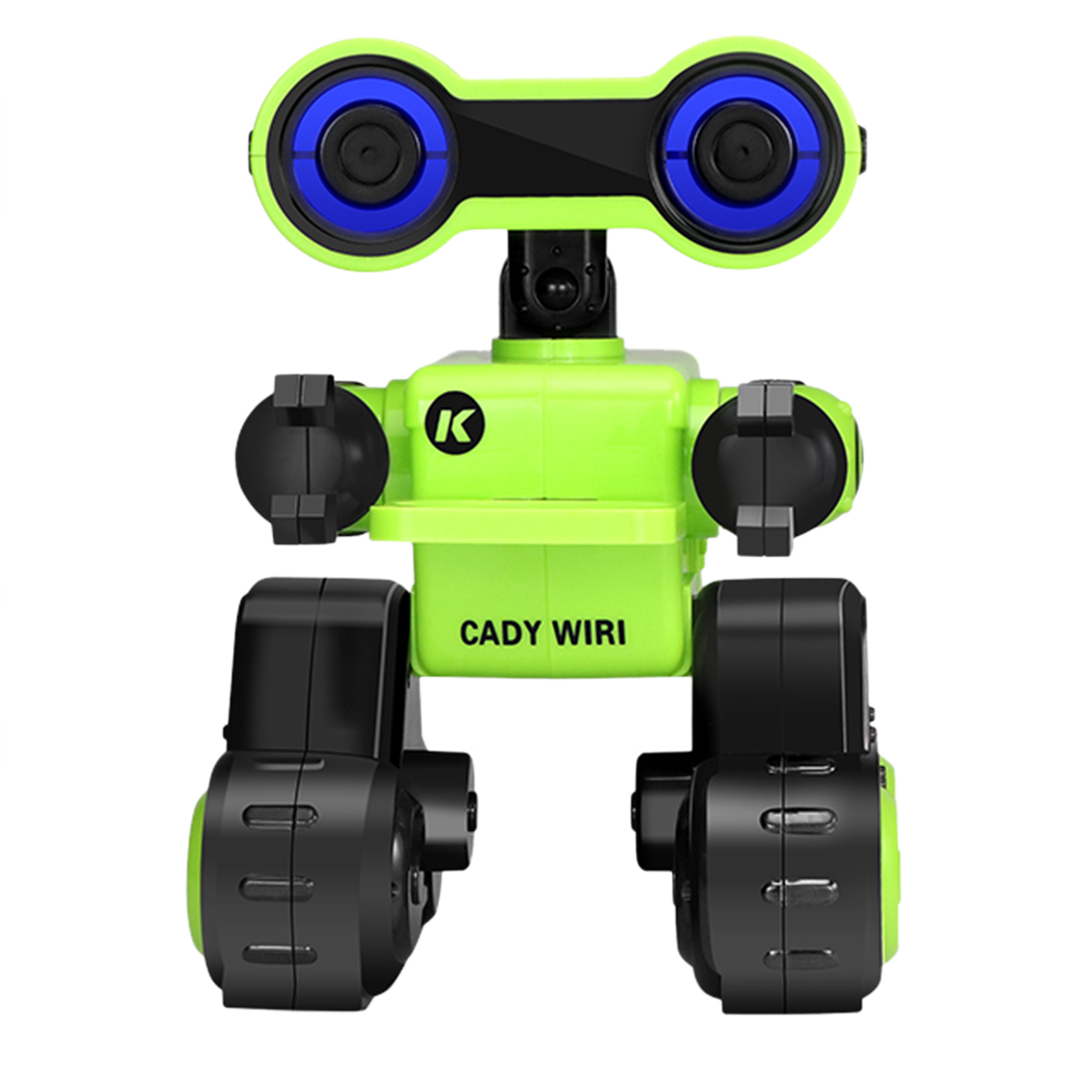 New Arrival 1 Pcs Intelligent Programming Robot With Singing Dancing Voice Chat Light Control Functions - Green