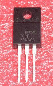 Image 1 - 10 ピース/ロット 20N60C3 FCPF20N60 20N60 P20NM60FP の輸入は、 lcd TO 220F 在庫