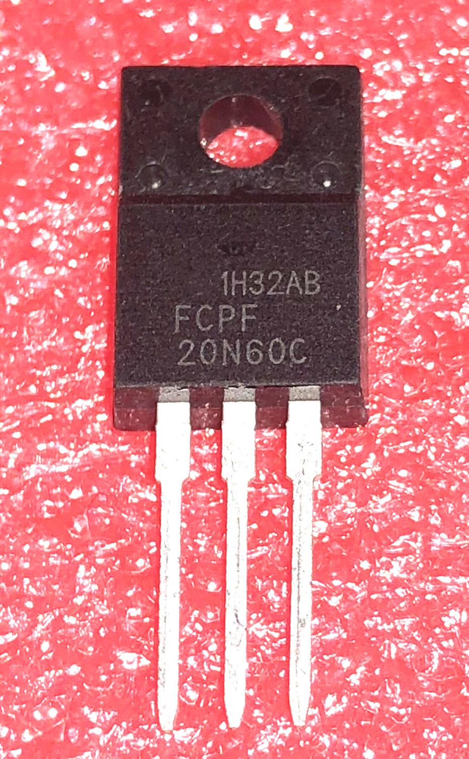 10pcs/lot 20N60C3 FCPF20N60 20N60 P20NM60FP Imports Disassemble LCD TO-220F In Stock