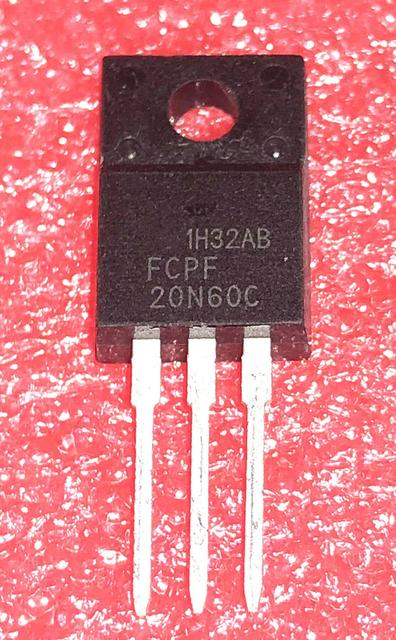 10pcs/lot 20N60C3 FCPF20N60 20N60 P20NM60FP imports disassemble LCD TO 220F In Stock