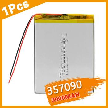 3.7V 3500mah (polymer lithium ion battery) Li-ion battery for tablet pc MP3 MP4 Electric Toy [357095] replace [357090] Batteries недорого