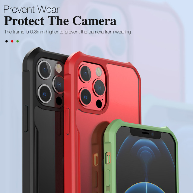 Shockproof armor for iphone 12 11