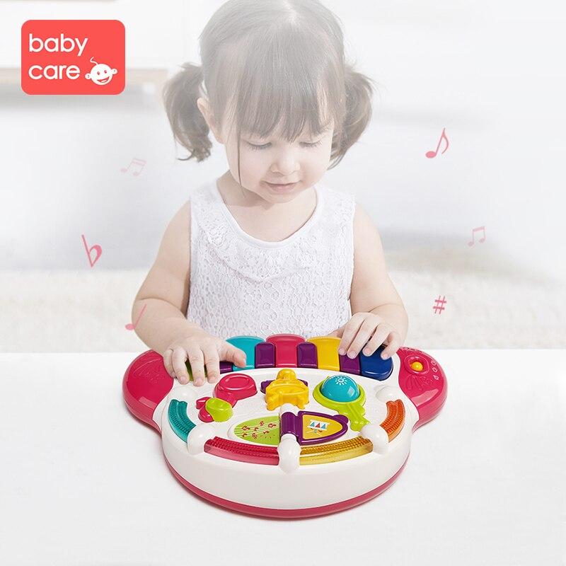 Babycare Instrument de musique jouet bébé enfants animaux ferme Piano développement musique jouets éducatifs pour enfants cadeau