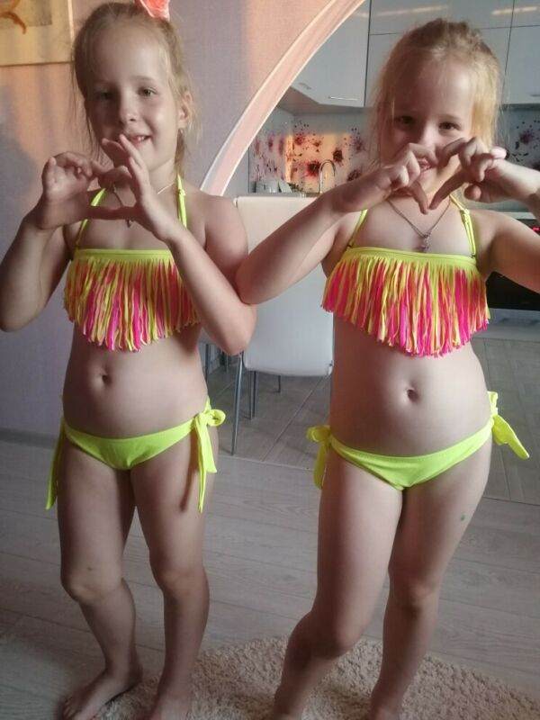 kids bikini US $9.58 38% OFF Patchwork Swimsuit Girls Bikini Kids 2018 Child Swimwear  for Teenage Girls Children Bikini Set Beachwear Baby Swim Bathing ...