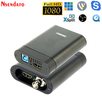 USB3.0 60FPS SDI HDMI Video Capture Box FPGA Grabber Dongle Game Streaming Live Stream Broadcast Recording For OBS vMix Wirecast