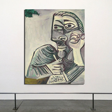 Pablo Picasso Self Portrait HD Canvas Posters Prints Marble Abstract Wall Art Painting Decorative Picture Modern Home Decoration