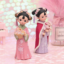 Christmas  Gifts chinese princess dolls Decorations Table Office Fairy Garden Miniature Figurines  Christmas Home Decoration