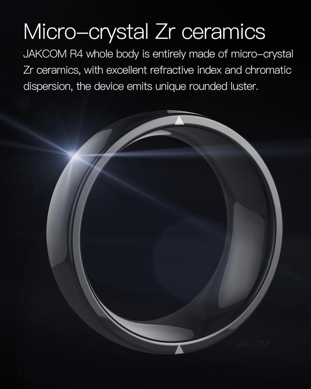 Jakcom r4 anel inteligente nova chegada como