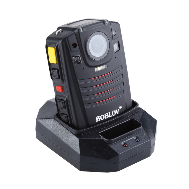 BOBLOV HD66 07 Body Police Video Camera 2 Batteries DVR 64GB Law Enforcement Cam 16X digital zoom 170° Wide Angle Pocket Camera