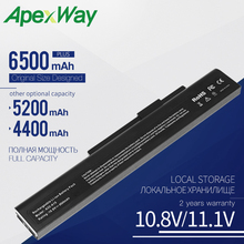 Apexway 6 Cell Аккумулятор для ноутбука MSI MEDION A32-A15 A41-A15 A42-A15 A42-H36 A6400 CR640 CX640 для жемчуга акойя качества E6201 E7201 P6631 P7621