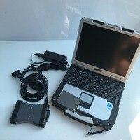Neueste scanner mb sterne c6 ssd Diagnose VCI KÖNNEN DOIP Protokoll software 2020 06 neueste laptop cf30 bereit zu verwenden