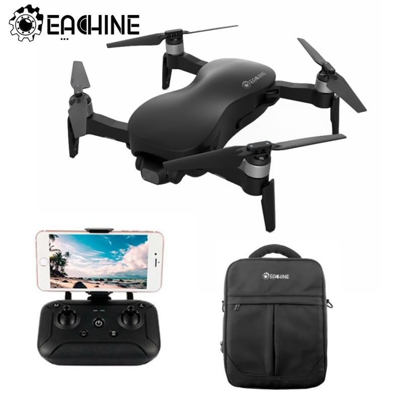 Eachine Camera Drone Rc Quadcopter Fpv Gps Stable-Gimbal One-Battery WIFI 3-Axis RTF