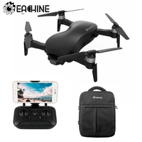 Eachine EX4 5G WIFI 1.2KM FPV GPS Con 4K HD Macchina Fotografica Drone 3-Assi Stabile del Giunto Cardanico 25 minuti Una Batteria RC Quadcopter RTF VS X12
