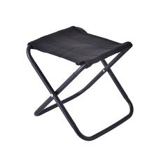 Mini Camping Stool Folding Fishing Chair Portable Foldable Seat Ultralight Outdoor Chair for Travel Hiking BBQ Beach Backyard cheap CN(Origin) Metal Stainless Steel FOLDING CHAIR 26X25X21CM Beach Chair portable camping chair Outdoor Furniture Modern