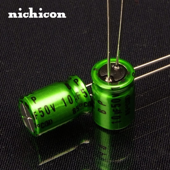 2pcs Nichicon MUSE ES (BP) 10uF/50V Promise Audio Capacitor
