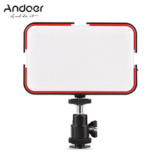 Andoer ledビデオライト写真撮影の補助光170個ledビーズIP63防水w/ミニボールヘッド用ライブストリーミング