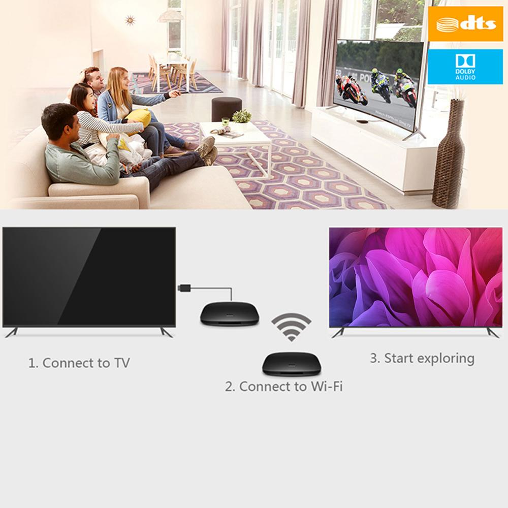 Image 5 - Xiaomi Mi Box 4C 4K HDR TV Box Android 6.0 Amlogic Cortex A53 