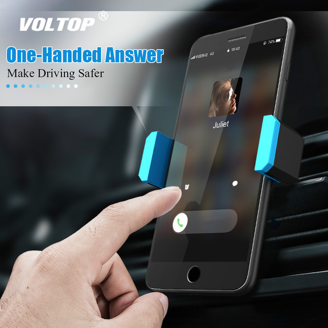 Universal Car Phone Holder Stand Air Vent Mount Holder 360 Degreen For Phone Support 4 6 inch Holder Stand in Car